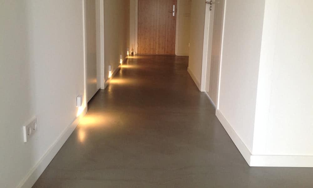 Beton cire assen betonlookvloer