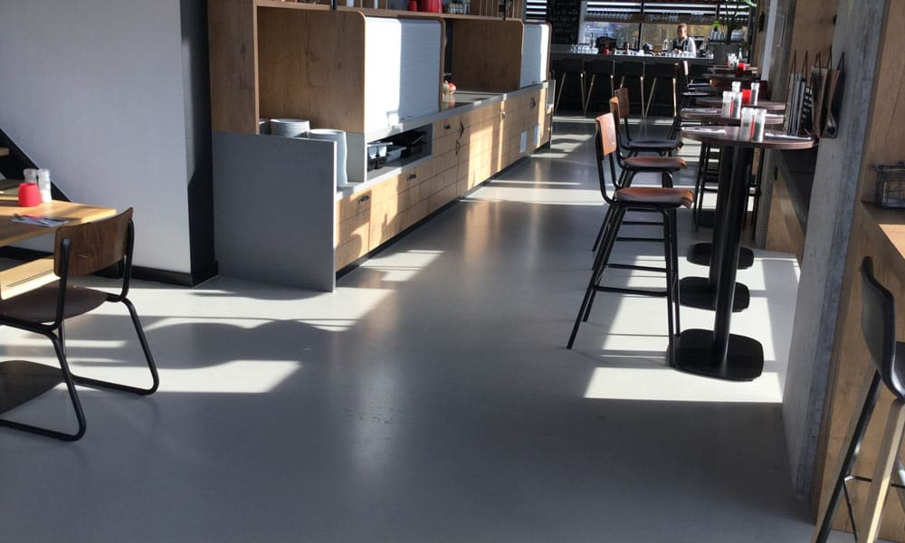 Gietvloer betonlook Almere