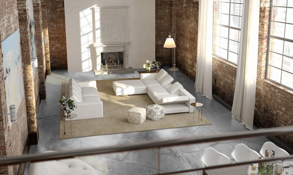 Een betonvloer Betonlookvloer.nl