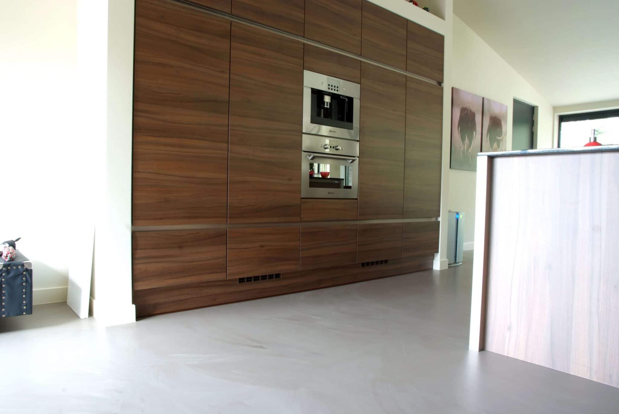 Gietvloer betonlook alkmaar praktisch design in huis met