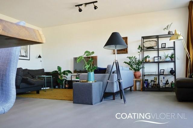 betonlook vloer vloerverwarming