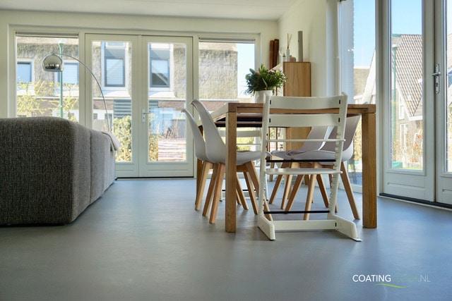 Betonvloer Woonkamer Prijs : Betonvloer prijs betonlookvloer gietvloer met betonlook