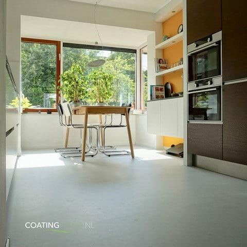 Woonbeton vloerverwarming